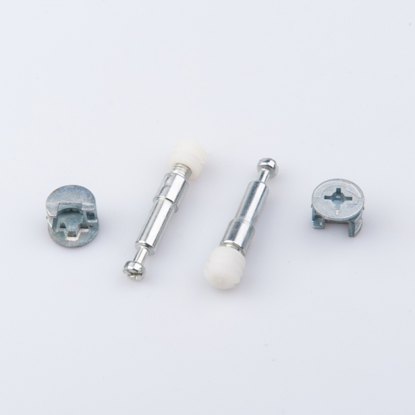 Furniture assembly hardware fastener connector joint bolt fitting dowel eccentric cam minifix for cabinet
