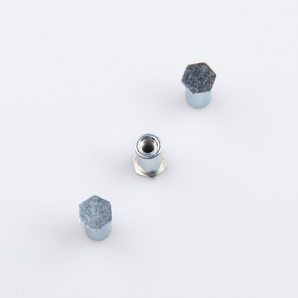 factory price carbon steel hex standoff rivet nut for electronic