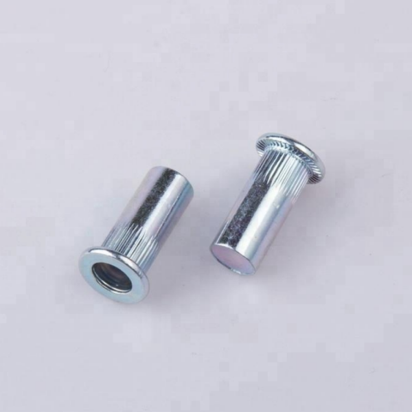 Flat Head Large Round Galvanized Blind Tubular Metal Rivets