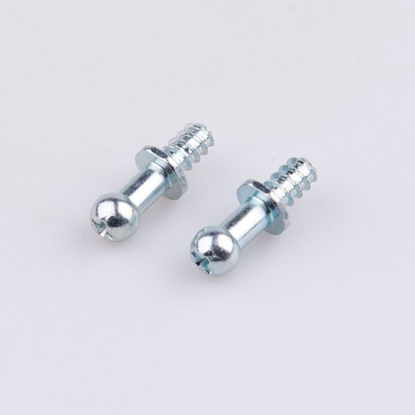 Custom carbon steel cross recessed ball head bolt with self tapping thread