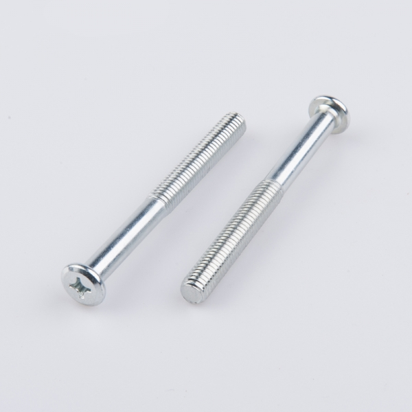 High quality carbon steel galvanized half machine thread rod